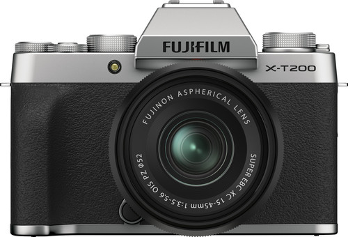 FUJIFILM X-T200 Zilver / XC15-45mm F3.5-5.6 OIS PZ Kit