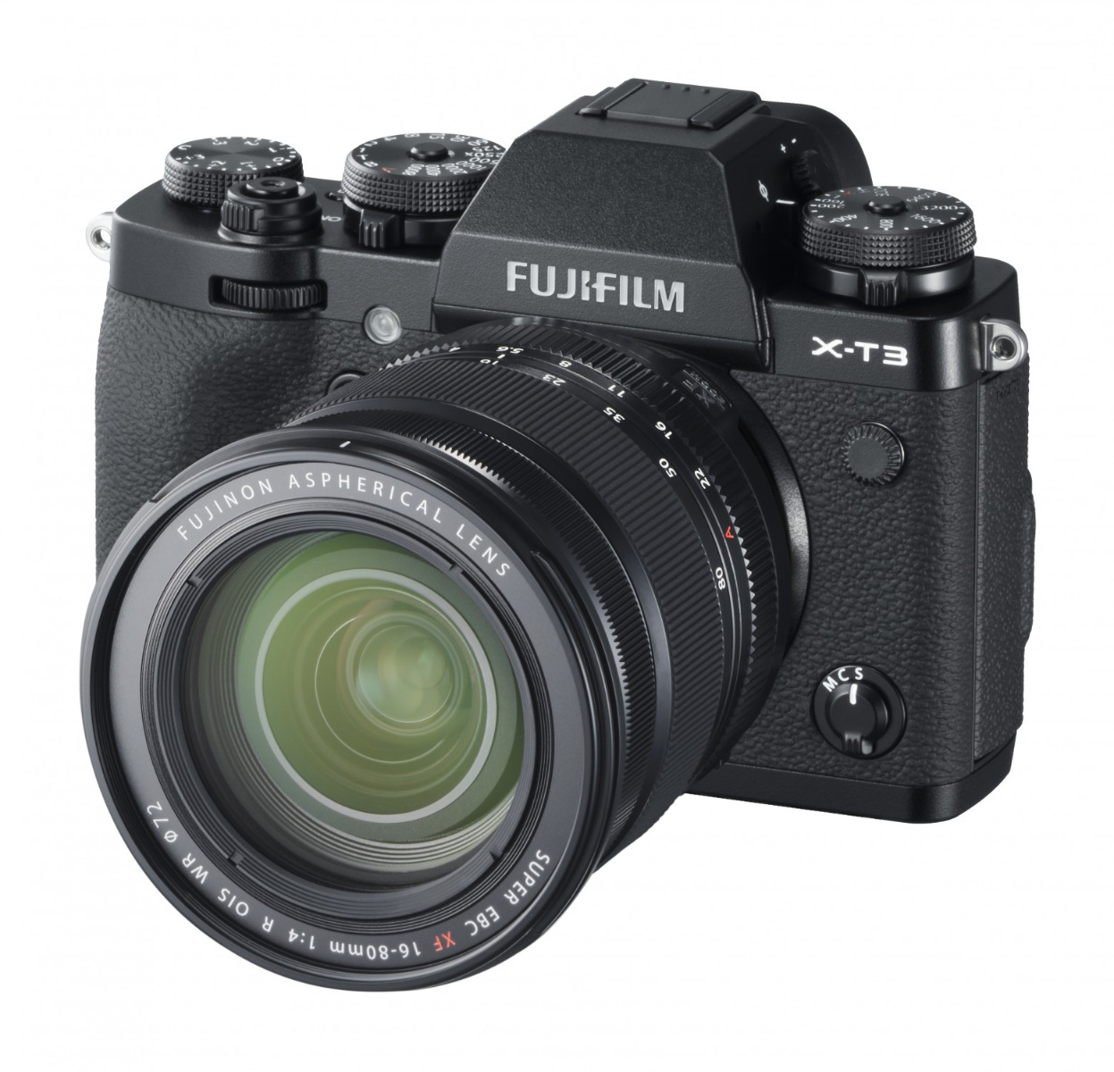 FUJIFILM X-T3  Black / XF16-80mm F4.0 R OIS WR