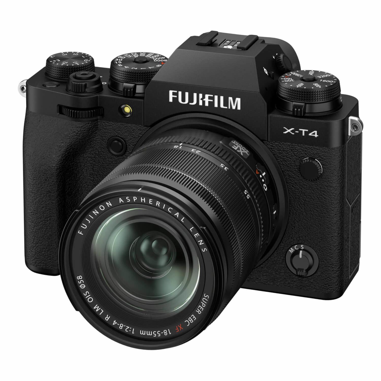 FUJIFILM X-T4 Zwart/ XF18-55mm F2.8-4.0 R LM OIS