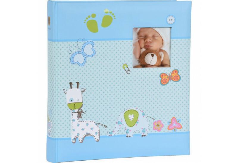 Henzo Babyalbum Baby Moments blauw 98.405.07