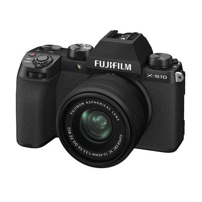 FUJIFILM X-S10 Zwart / XC15-45mm F3.5-5.6 OIS PZ
