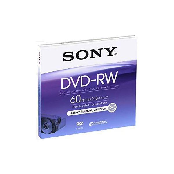 DMW60AJ 8 CM DVD -RW  60 MN X1