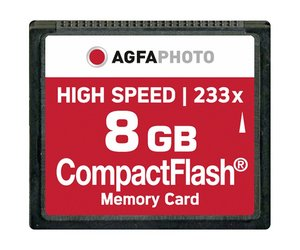 AgfaPhoto 8 GB CompactFlash-Card HighSpeed (MLC)