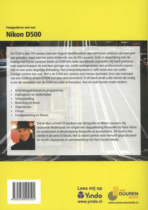 van Duuren Media Fotograferen met een Nikon D500