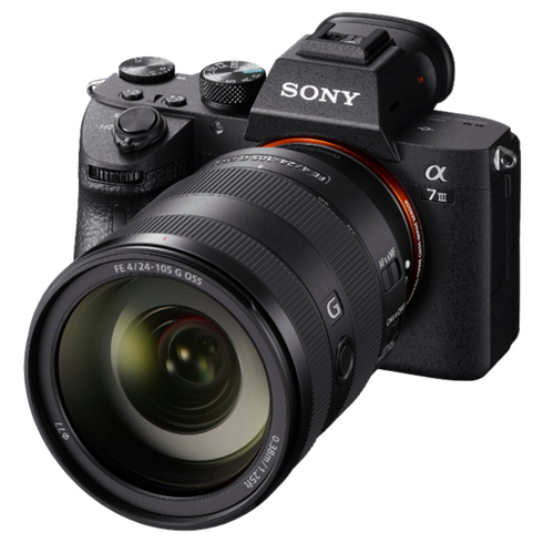 Sony A7 M3 / ILCE7M3 met SEL24105