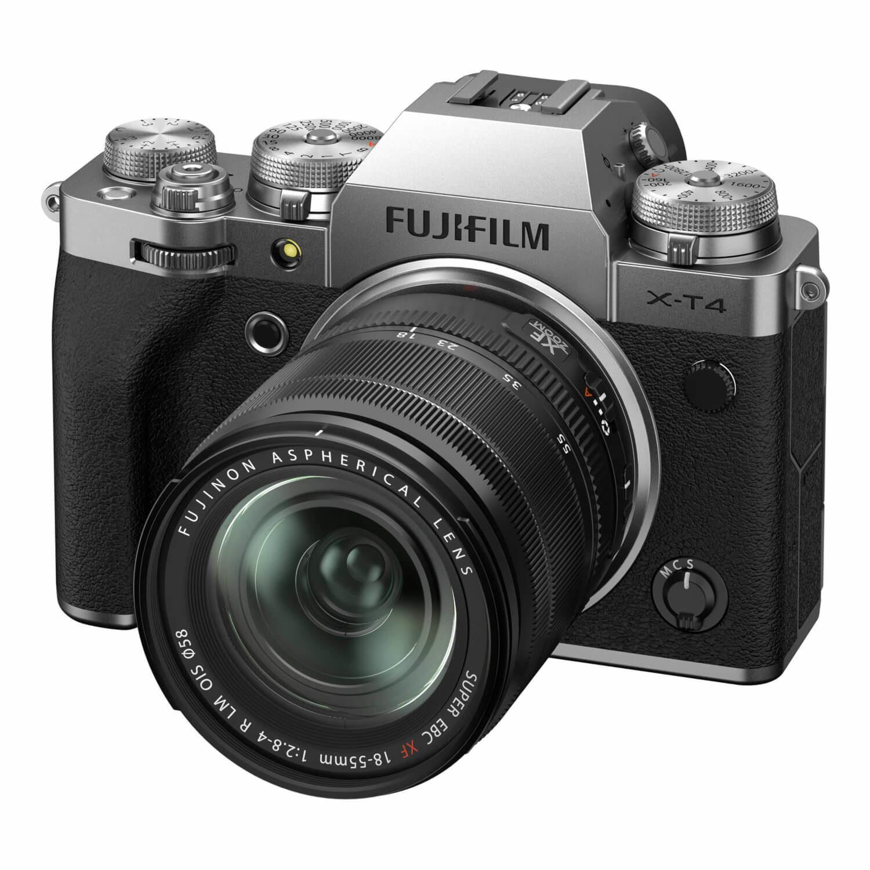 FUJIFILM X-T4 Zilver / XF18-55mm F2.8-4.0 R LM OIS