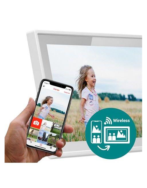 Frameo Digitale Fotolijst HF-101W Wit 10.1 Inch