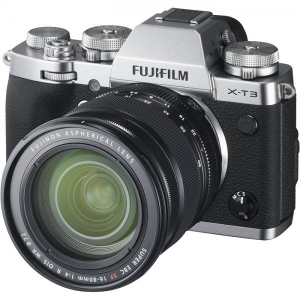 FUJIFILM X-T3  Zilver / XF16-80mm F4.0 R OIS WR Kit