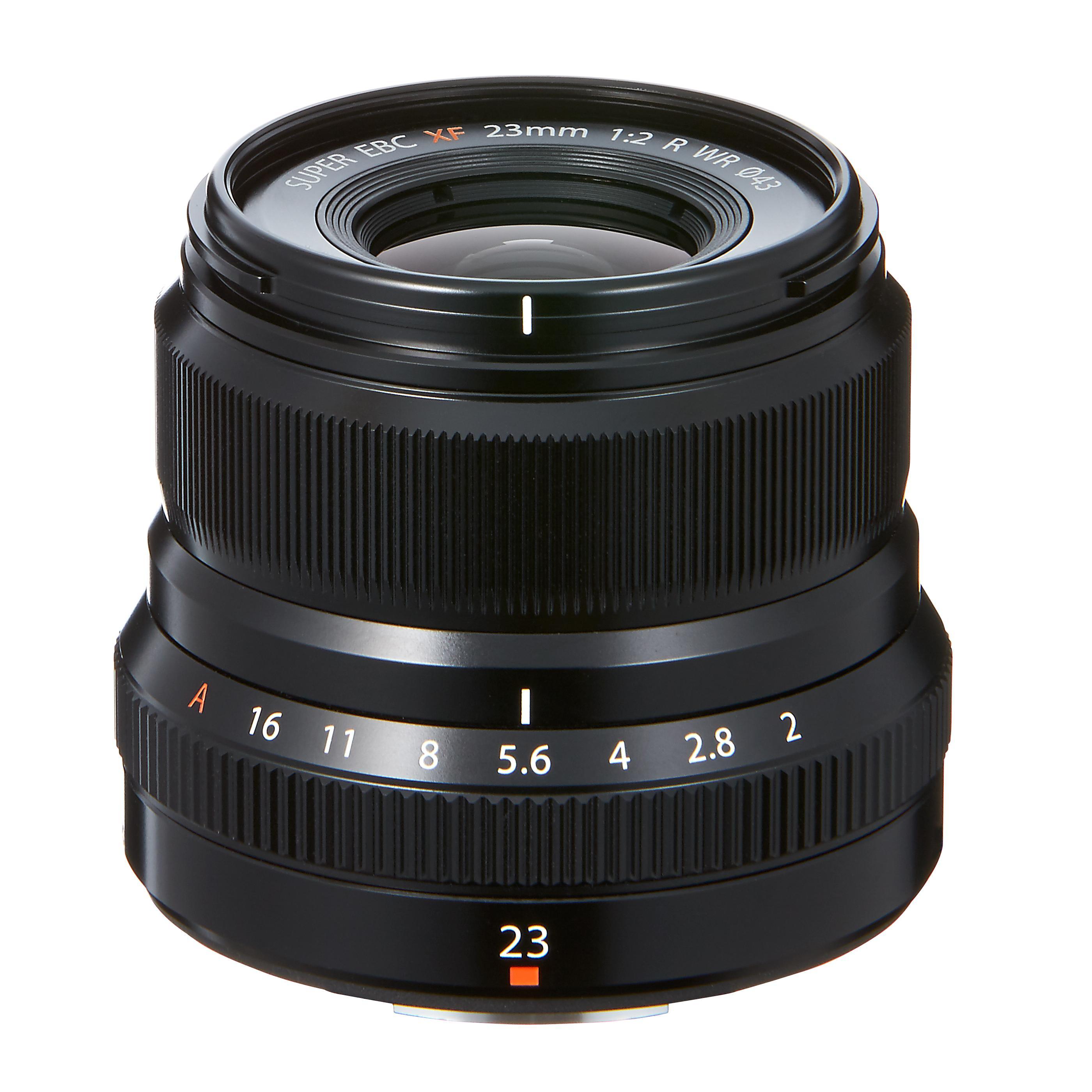 Fujifilm FUJINON XF23mm F2.0 WR Black