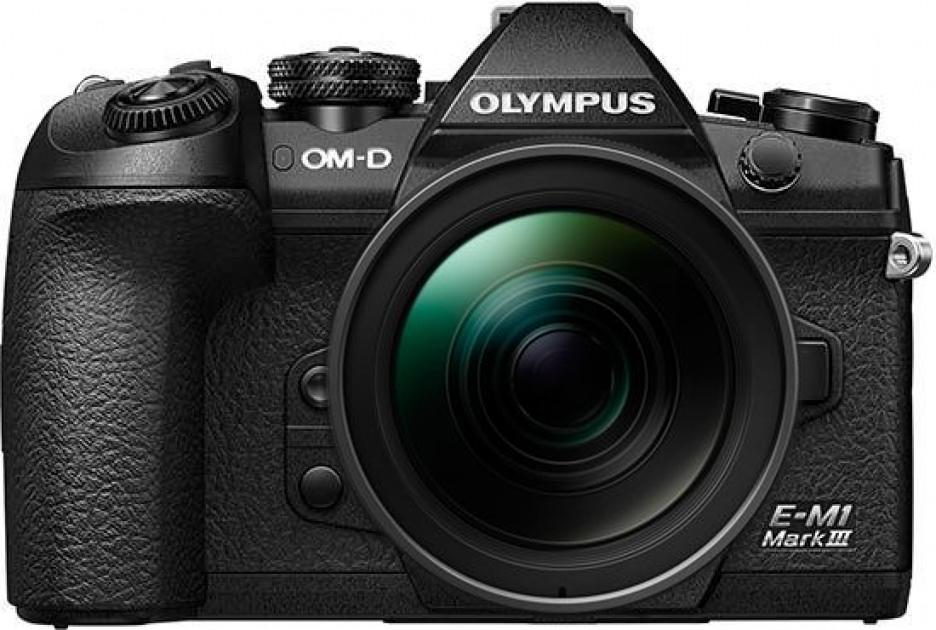 Olympus OM-D E-M1 Mark III body zwart + 12-100mm
