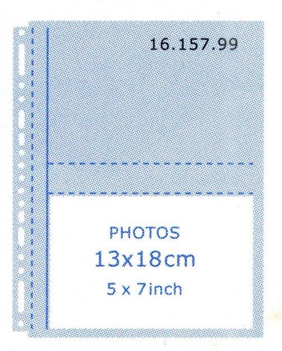 Henzo 10 Fototassen 13x18 transp 16.157.99