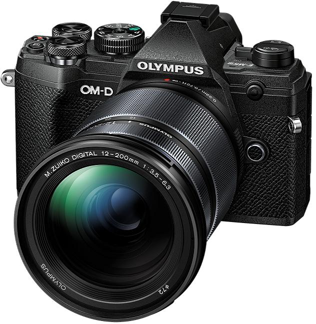 Olympus E-M5III 1220 Kit blk/blk / E-M5 Mark III body black + M.ZUIKO DIGITAL ED 12-200mm F3.5-6.3